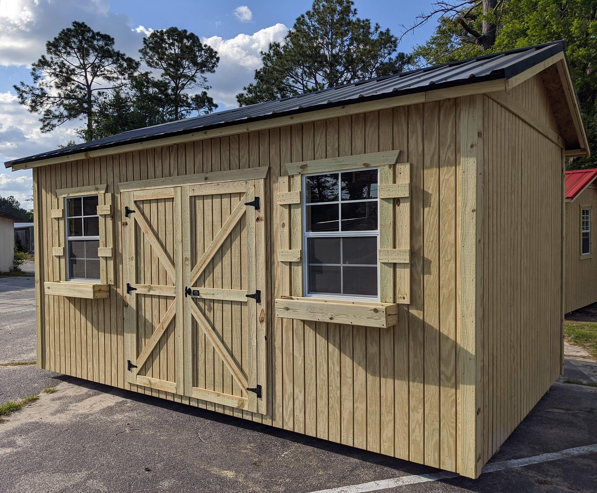 Utility Storage Buildings